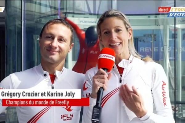 Greg & Karine dans La Petite Lucarne - L'Equipe d'Estelle du 6 mai